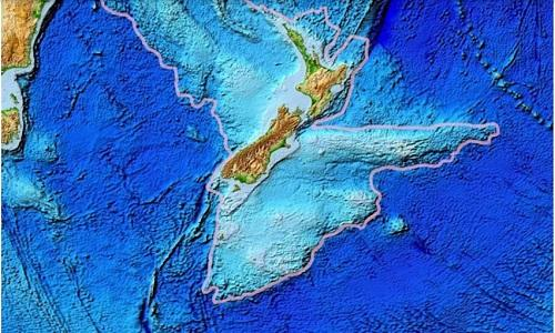 Nghi vấn lục địa thứ 8 đang ′ẩn giấu′ dưới New Zealand